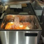 Carrots cooking in the SousVide Supreme