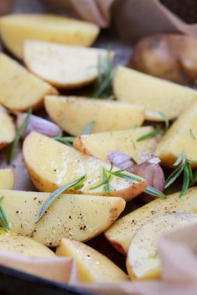 Rosemary and Garlic New Potatoes