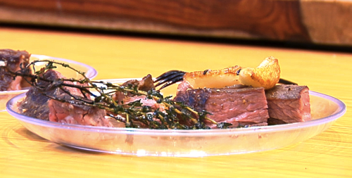 how to cook flat iron steak well done