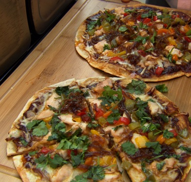 Grilled Barbecue Sous Vide Chicken Pizza | SousVide Supreme Blog