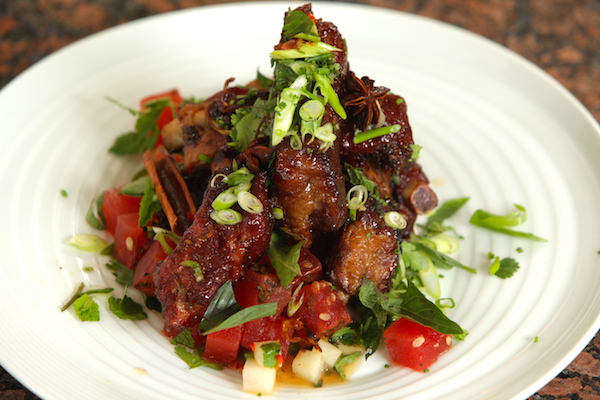 Thai Glazed Pork Ribs cooked sous vide with SousVide Supreme!