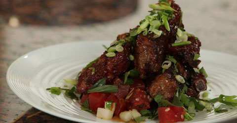 Thai Glazed Pork Ribs
