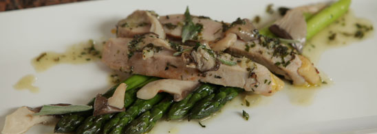 Herb Roasted Pheasant Breast