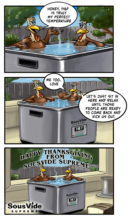 Have a happy sous vide Thanksgiving!