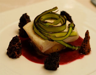 Halibut Beurre Rouge