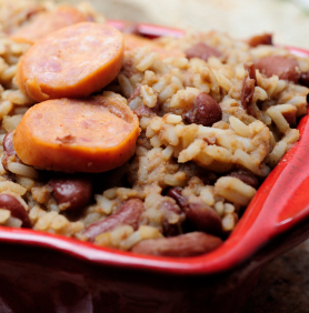 Mardi Gras Red Beans 'n' Rice