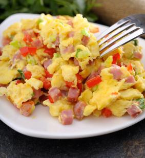 Easter Ham and Eggs Scramble | SousVide Supreme Blog