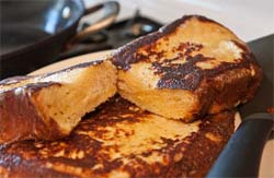 Sous Vide French Toast