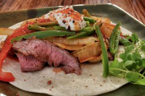 flank steak fajitas sous vide