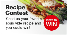 Enter our Monthly Recipe Contest!