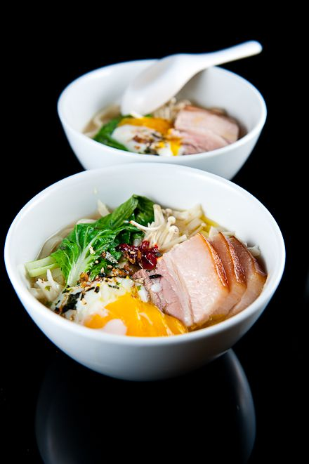 Udon with 36-hour Pork Belly #sousvide