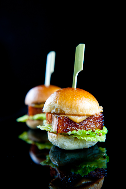 Pork Belly Sliders Recipe — Dishmaps