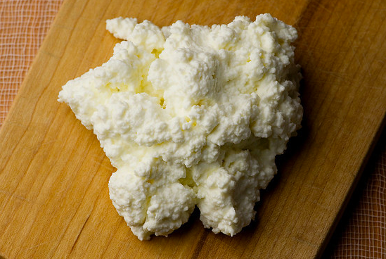 Fresh ricotta cheese, made sous vide with SousVide Supreme!