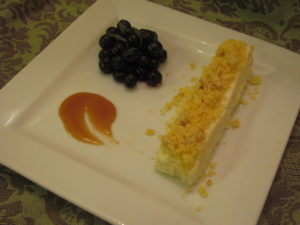 Sous Vide Sweet Corn Cheesecake