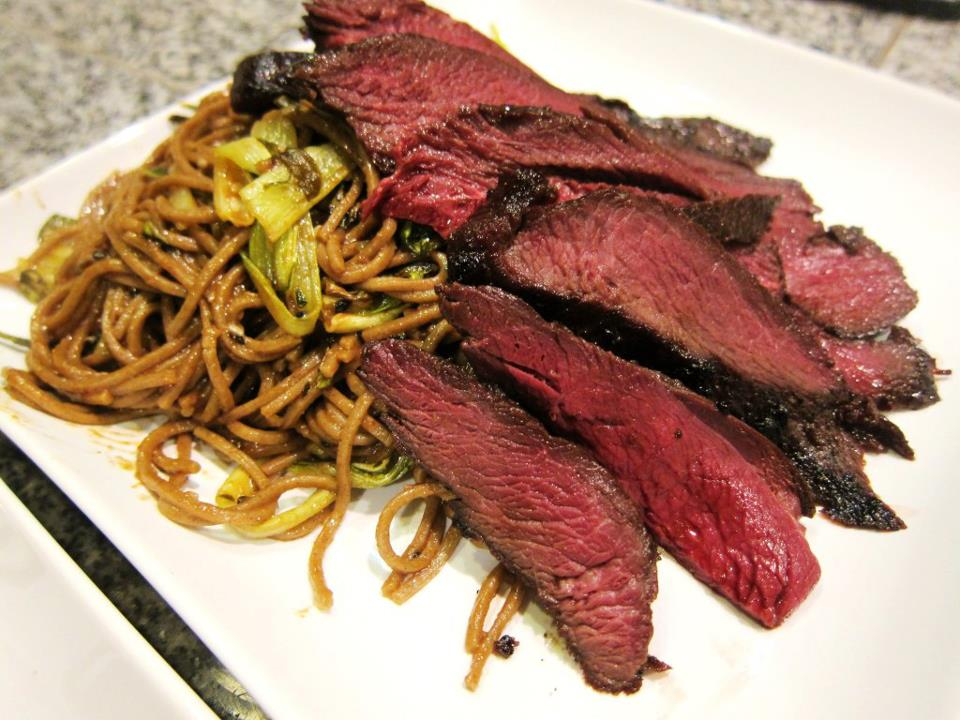 Wild Goose With Soba Noodles And Roasted Baby Bok Choy Sousvide Supreme Blog