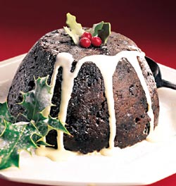 Sous Vide Christmas Pudding