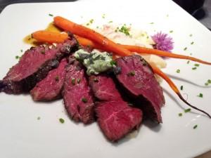 Sous Vide Hanger Steak