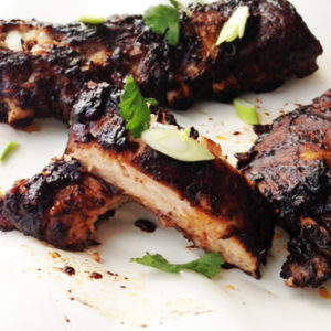 Chocolate Chili Baby Back Ribs