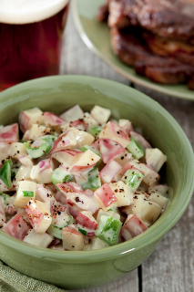 Sous Vide Barbecued Potato Salad