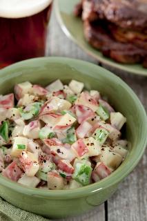 Sous Vide Barbecued Potato Salad
