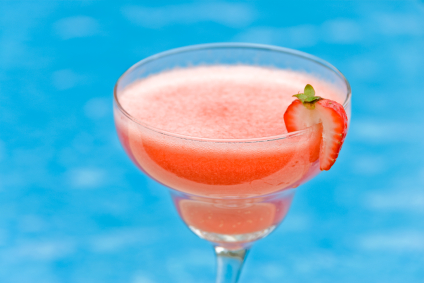 Sous Vide Strawberry Daiquiri