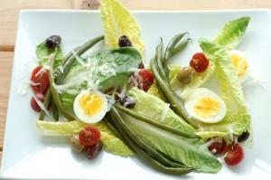 #sousvide haricot vert salad #sousvide