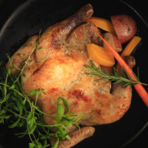 Fennel-Scented Cornish Game Hens