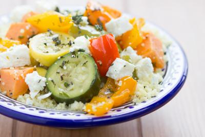 Sous Vide Vegetable Couscous