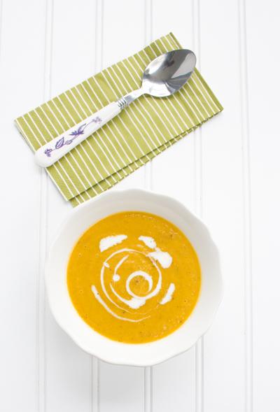 Sous Vide Vegetable Soup