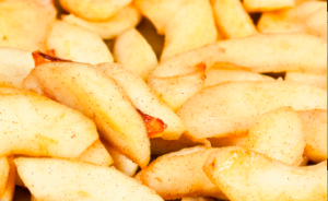 sous vide cinnamon apples #sousvide