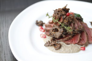 Beef Tenderloin with Morel Cream Sous Vide Supreme