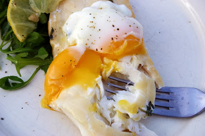 Smoked Haddock with Poached Egg sous vide