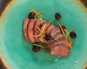 Merino Lamb Loin with Olive Tapenade #sousvide
