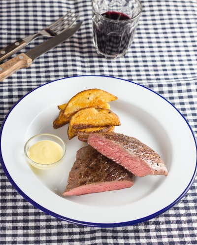 Sous Vide Steak Bearnaise