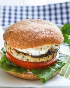 Moroccan Spiced Turkey Burger Sous Vide