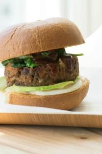 Veggie Burger Sous Vide