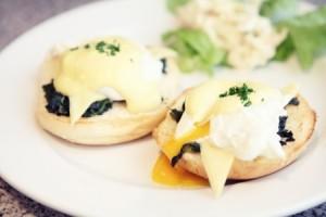 Spicy Eggs Sardou