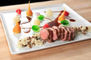 Indiana Duck with Country Ham Bourbon Demi-glace