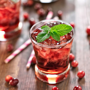 Sorrel (Hibiscus) Punch Cocktail