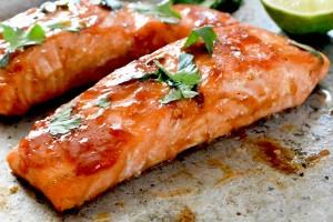 Cranberry BBQ Salmon