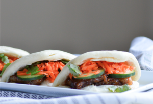 Adobo Pork Belly Steam Buns