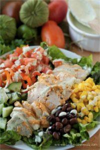 Southwestern Chicken Salad photo Rachael Yerkes