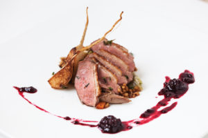 Duck Breast with Blackberry Jam