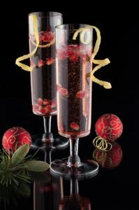 Pom Pom Champagne Cocktail