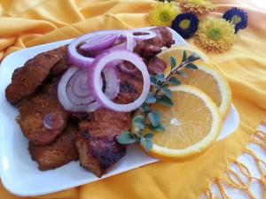 Grilled Pibil Boneless Pork Ribs