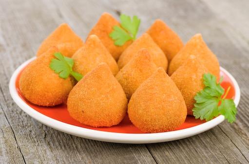 Coxinhas (Brazilian Chicken Croquettes)