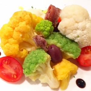 Warm Broccoli Salad Sous Vide