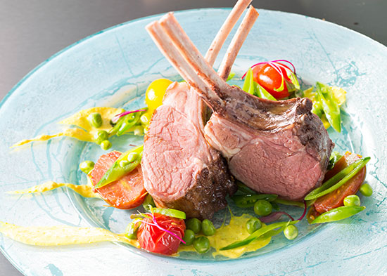 Sous Vide American Lamb with Tomato Confit by Chef Jason Wilson