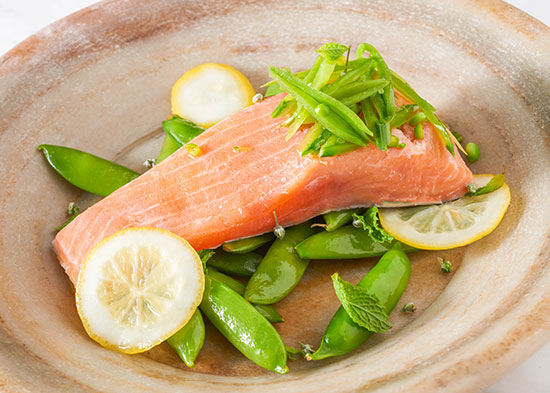 King Salmon Sous Vide by Jason Wilson