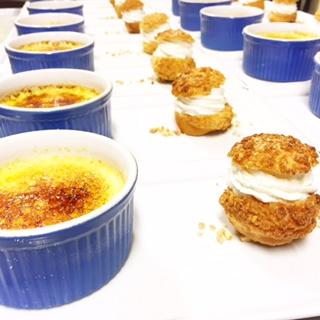 saffron creme brulee sous vide